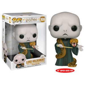 Funko Pop van Lord Voldemort with Nagini uit Harry Potter 109
