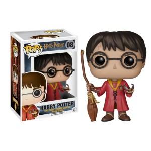 Funko Pop van Harry Potter in Quidditch Uniform 08