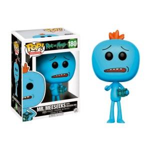 Funko Pop van Mr. Meeseeks with Meeseeks Box uit Rick and Morty 180