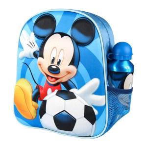 Schooltas van Disney Mickey Mouse met flesje