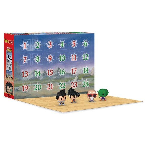 Funko Advent Calendar 2020 van Dragon Ball Z Display