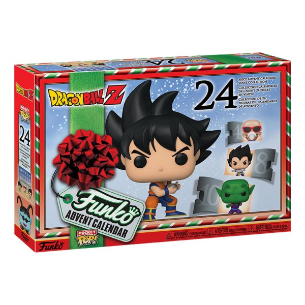 Funko Advent Calendar 2020 van Dragon Ball Z Box