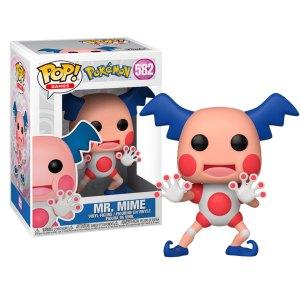 Funko Pop van Mr. Mime uit Pokemon 582