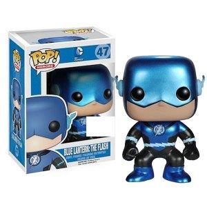Funko Pop van Blue Lantern: The Flash (Metallic) van DC Comics 47