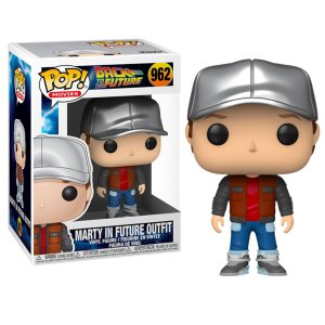 Funko Pop van Marty in Future Outfit uit Back to the Future 962