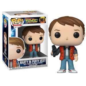 Funko Pop van Marty in Puffy Vest uit Back to the Future 961