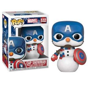 Funko Pop van Cap Snowman van Marvel Captain America 532