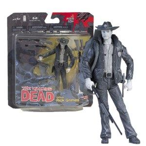 McFarlane Toys Action Figure van Rick Grimes Black & White van Comic Series 1