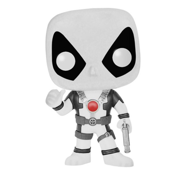 Funko Pop van Deadpool (White) van Marvel 112 Unboxed
