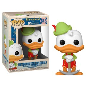Funko Pop van Matterhorn Bobsleds Donald Duck 813