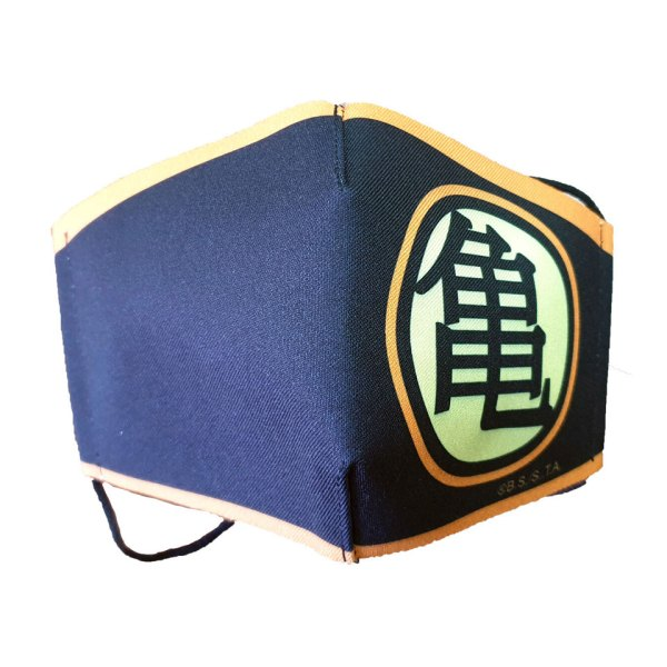 Gezichtsmasker van Dragon Ball (Black) Facemask