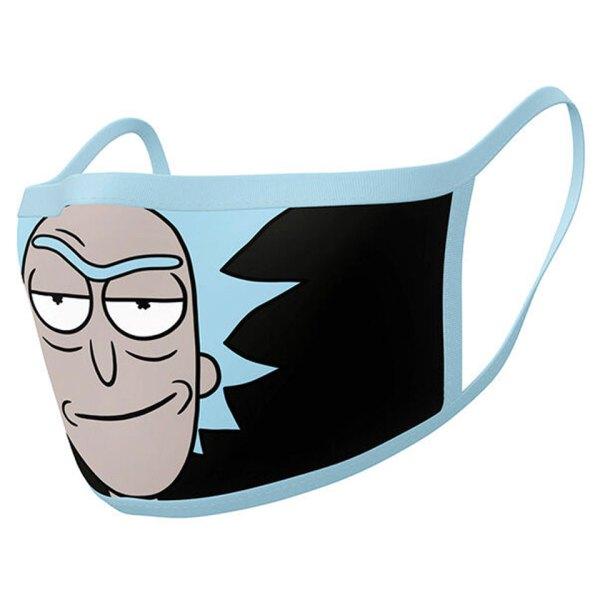 Gezichtsmasker van Rick & Morty Facemask Unboxed