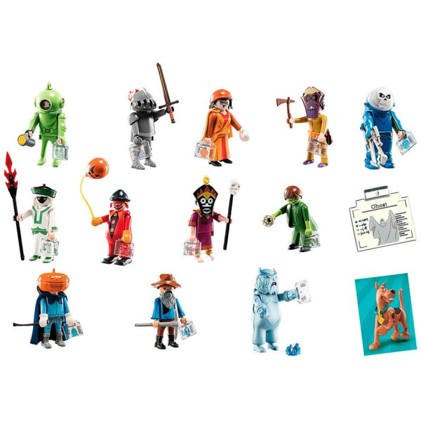 Playmobil Scooby-Doo Mystery Assorted Figures