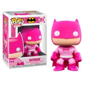 Funko Pop van Batman breast cancer awareness 351