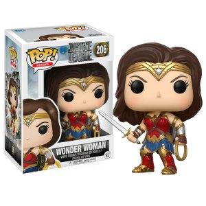Funko Pop van Wonder Woman uit DC Justice League 206