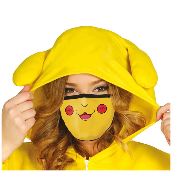 Mondkapje van Pikachu uit Pokemon
