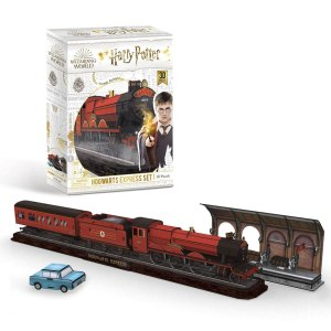 3D Puzzel van Hogwarts Express Set uit Harry Potter