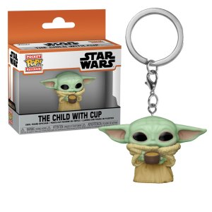 Funko Pocket Pop uit The Child with Cup uit Star Wars