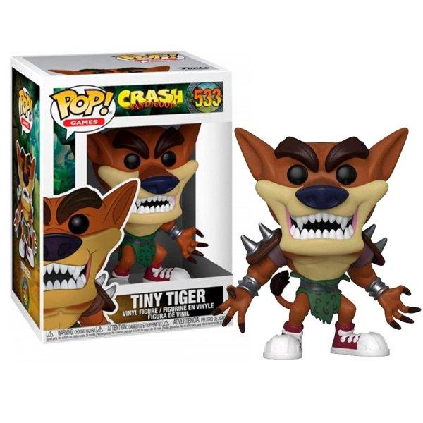 Funko Pop van Tiny Tiger uit Crash Bandicoot 533