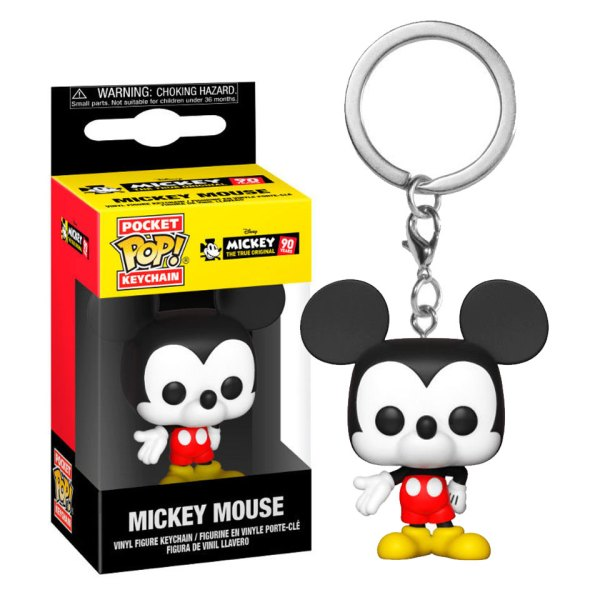 Funko Pocket Pop van Mickey Mouse uit Mickey 90 Years