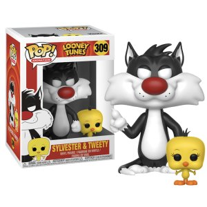 Funko Pop van Sylvester & Tweety uit Looney Tunes 309