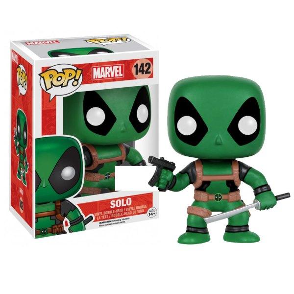 Funko Pop van Solo (Green) uit Marvel Deadpool 142