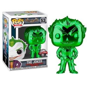 Funko Pop van The Joker (Arkham Asylum) (Green Chrome) uit Batman 53