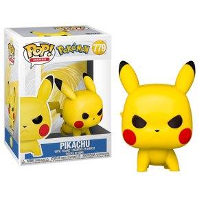 Funko Pop van Pikachu (Attack Stance) uit Pokemon 779
