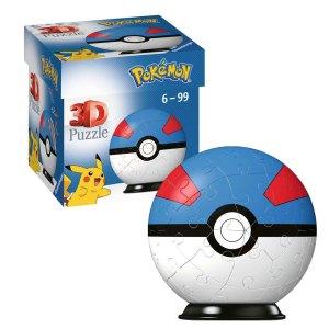 3D Puzzel van de Greatball uit Pokémon