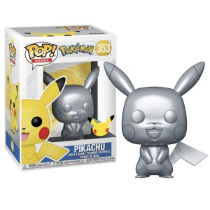 Funko Pop van Pikachu (Silver) uit Pokemon 353