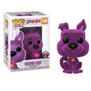 Funko Pop van Scooby-Doo (Flocked) (Purple) uit Scooby-Doo 149