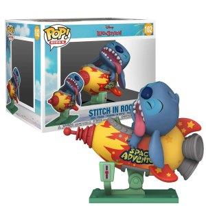Funko Pop Rides van Stitch in Rocket uit Lilo & Stitch 102