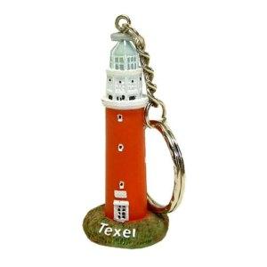 Sleutelhanger van vuurtoren van Texel