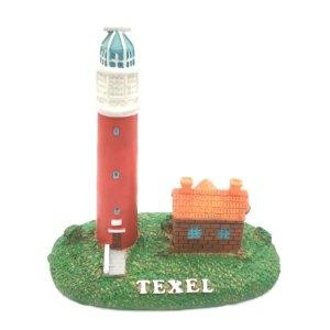 Souvenir Texel van vuurtoren met huisje