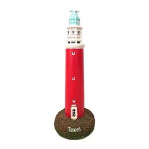 Souvenir van vuurtoren met licht van Texel