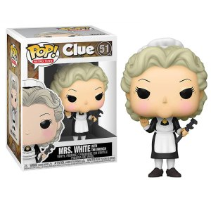 Funko Pop van Mrs. White with the Wrench uit Clue 51