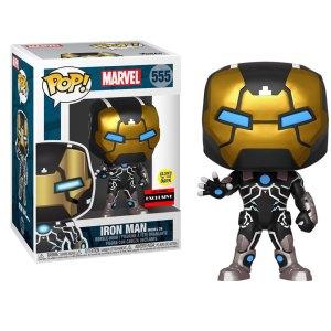 Funko Pop van GITD Iron Man Model 39 uit Marvel 555