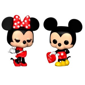 Funko Pop 2-Pack van Minnie & Mickey (Valentine) van Disney Unboxed