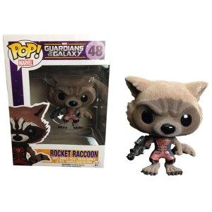 Funko Pop van Rocket Raccoon uit Guardians of the Galaxy 48