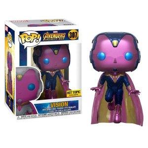 Funko Pop van Vision uit Marvel Avengers 307 Hot Topic