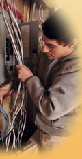 Electrician finds water damage. Now what?