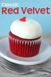 Pete's sweets red velvet cupcake