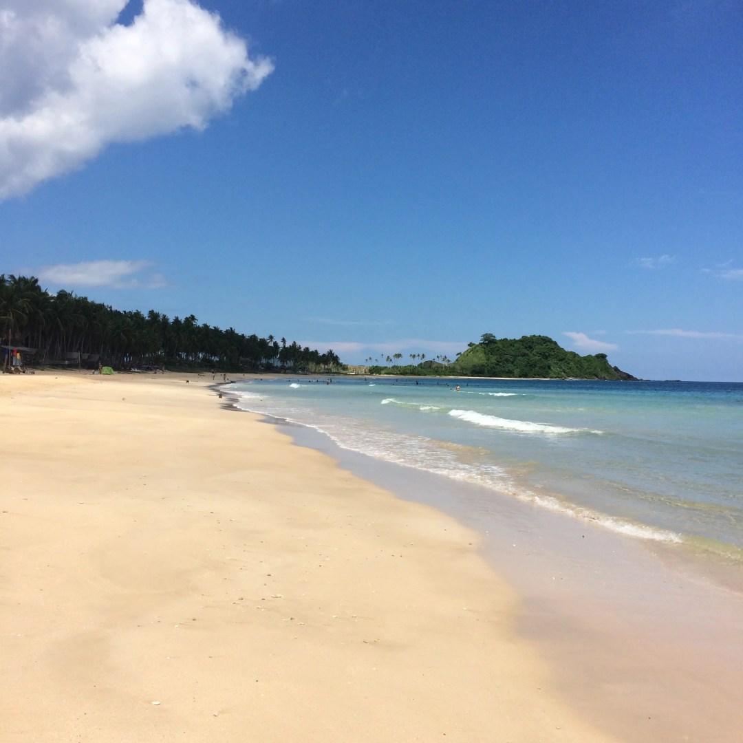 El Nido Day 3 - Twin Beaches: Nacpan & Calitang