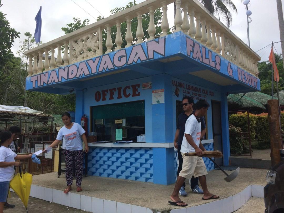 Tinandayagan Falls and Resort