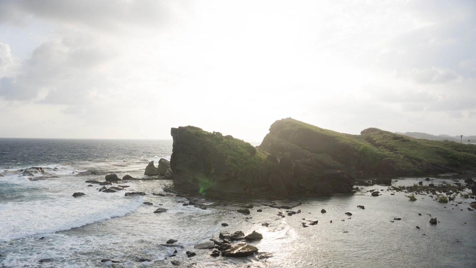 Biri Island Rock Formations - Biri Island - Northern Samar
