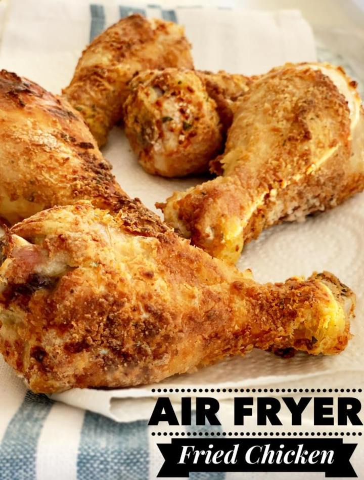 Fried Chicken In The Air Fryer Chase Laughter
