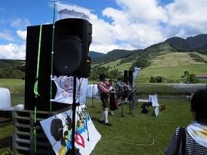 六呂師高原アルプス音楽祭2014 MACKIE THUMP TH-15A/どこまでもアマチュア