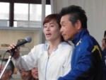 第50回越前大野名水マラソン ゲストランナー 間寛平氏 山本佳子氏