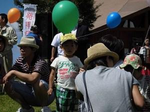 六呂師高原アルプス音楽祭2014 準備万端のお子ちゃま/どこまでもアマチュア