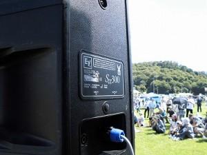 六呂師高原アルプス音楽祭2014 electrovoice SX300/どこまでもアマチュア